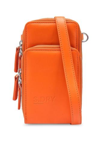 SUPERDRY brown Valley Cross Body Bag 9FA34ACA825F3FGS_1