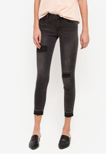 ONLY grey ONLY ONE Carmen Skinny Jeans ON573AA0T0C3MY_1