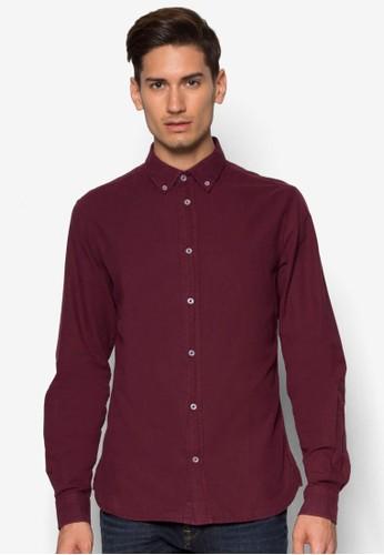 Edem 簡約長esprit 工作袖襯衫, 服飾, 服飾
