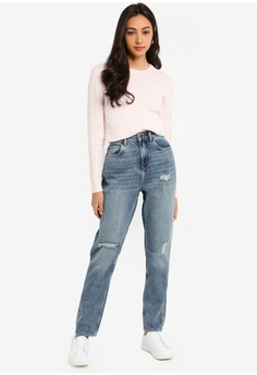 165ae5f677eb 26% OFF Jack Wills Barton Mom Jeans S$ 118.90 NOW S$ 87.90 Sizes 25 in 26  in 27 in 28 in