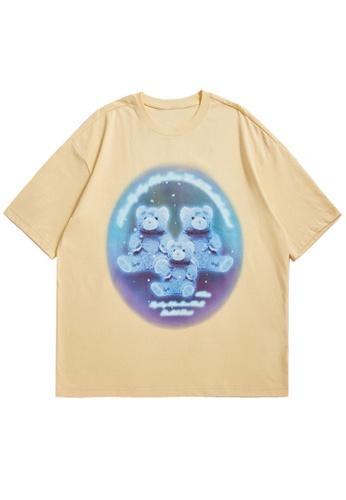 Twenty Eight Shoes Trend Printed Short T-shirt 5347S21 54ECBAA65573B0GS_1