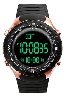 Vortex VX1013 - Jam tangan Pria - Rubber GOLD BLACK FC1C7ACEA7550EGS_1
