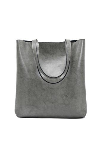 Twenty Eight Shoes grey VANSA Simple Design Hand Bag VBW-Hb8823 69D99AC0730E6DGS_1