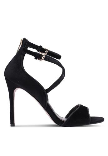 Miss KG black Faleece Velvet Heels MI302SH0RTC1MY_1