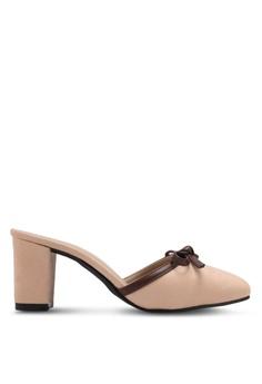 c1c267156e5 Spiffy beige Evening Trendy Block Heels SP352SH0SRYHMY 1
