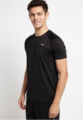 FILA black T - Shirt 73B5DAA62B3BECGS_1