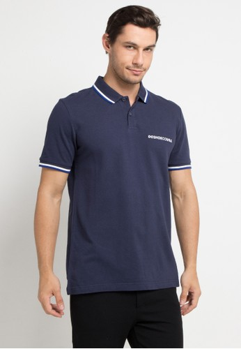 DC multi and navy Lakebay Polo 2 Short Sleeve 60E10AA26B200CGS_1
