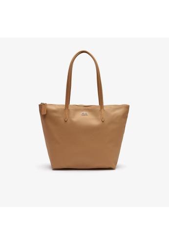 Lacoste Women's L.12.12 Concept Small Zip Tote Bag-NF2037PO CC486AC736B8E9GS_1