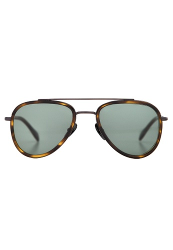Marshall Eyewear brown and green Mick Olive Turtle MA266AC60OWTSG_1