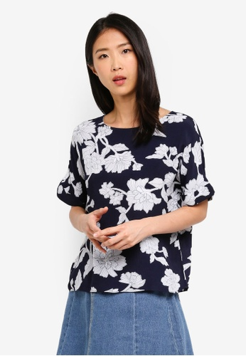 ZALORA BASICS multi Basic Boatneck Oversized Top F43EAAA509B441GS_1
