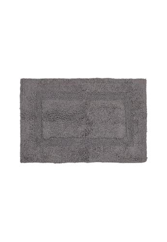 Charles Millen grey SET OF 2 Charles Millen Suite Boundary Tufted Bath Rug ( 40cm x 60cm )360g. 0F7DCHLE980D68GS_1