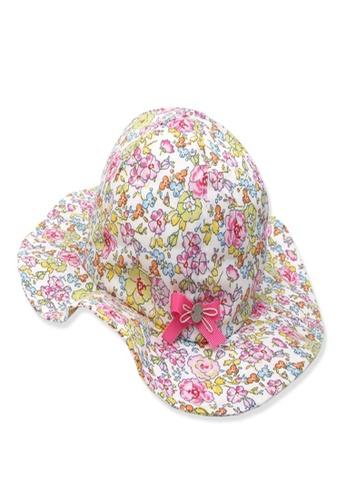 Organic mom pink Organic Cotton Daisy Flower Hat 00807KCB2E7E7FGS_1