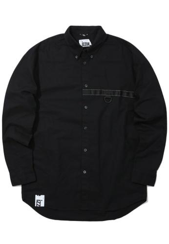 izzue black D-ring shirt FE8C6AAB987D6CGS_1