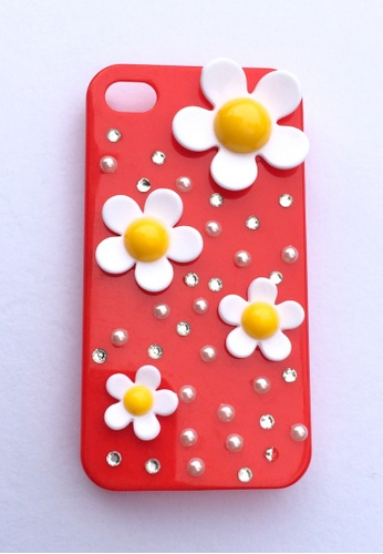 Fancy Cellphone Cases multi Flower and Bling   Case FA644AC56MXNPH_1