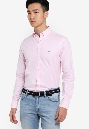 Tommy Hilfiger pink STRETCH OXFORD SF2 TO729AA30LWZSG_1