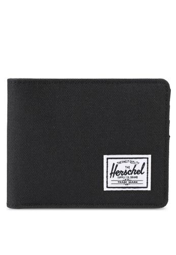 Herschel black Roy RFID Wallet 29A03ACE5156CBGS_1