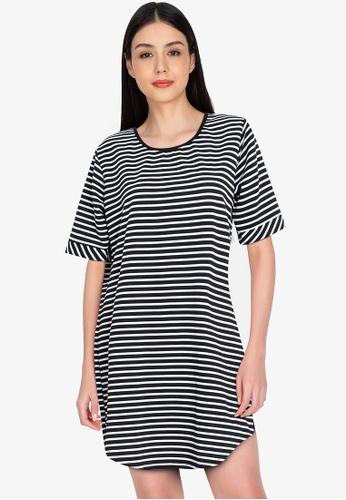 Chictees black Vicki Shirt Dress E9776AADD593DEGS_1