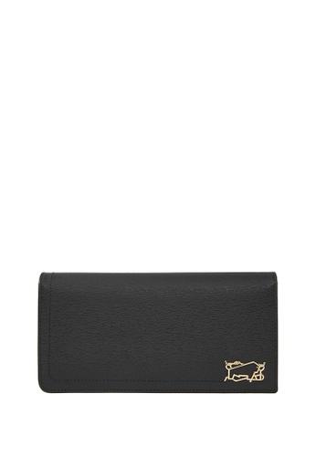 Braun Buffel black Thonet 2 Fold Long Wallet with Zip Compartment 993B7AC1A9361FGS_1