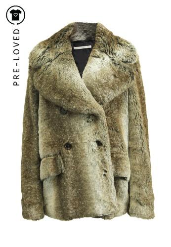 Alessandra Rich multi Pre-Loved alessandra rich Faux Fur. D1863AA9943E7CGS_1