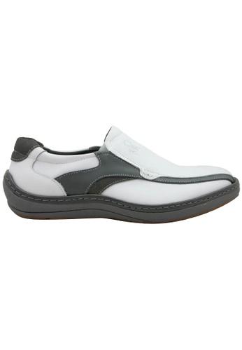 midzone white SCORPION Leather Slip On B74DESH7AFA978GS_1