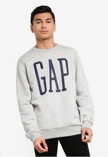 Gap grey Logo Sweatshirt B7401AA7908363GS_1