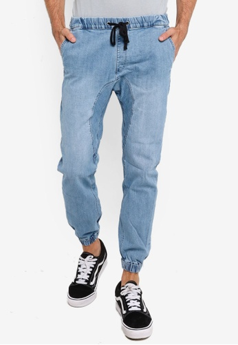 Cotton On blue Drake Cuffed Pant 11F6EAA9990F71GS_1