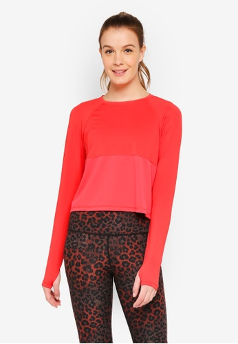 Cotton On Body red Training Long Sleeve Top D9BB1AA31D9D26GS_1