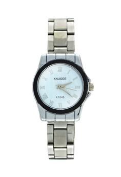 KNUODE Classic Women's Silver Stainless Steel Strap Wrist Watch K1045-WBL