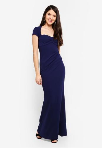 818de5fe33b Buy Goddiva Sweetheart Neck Maxi Dress Online on ZALORA Singapore