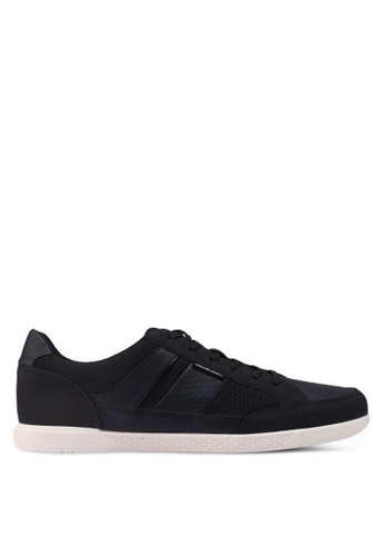 Jack & Jones grey Anthracite Mesh Sneakers 1C63BSHBFD23B6GS_1