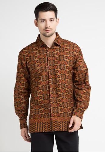 Anakara multi and brown Long Sleeve Toredo AN328AA0WE69ID_1