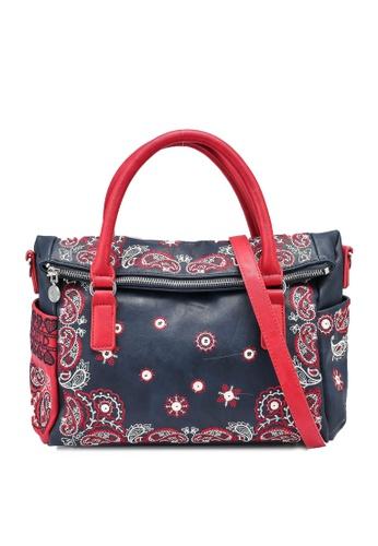 Desigual blue Boho Handbag B76FAACCFBCDF3GS_1