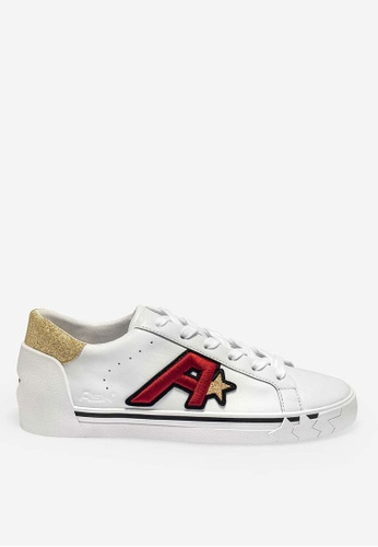 ASH black Next - White Embroidered Patch Low-Top Sneakers F43ABSHD37379FGS_1
