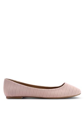 Rubi 粉紅色 Britt Ballet 平底鞋 01366SHFBBBA3BGS_1
