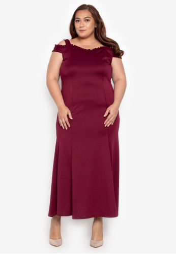 3d96cd7b05 Shop Get Laud Plus Plus Khloe Dress Online on ZALORA Philippines