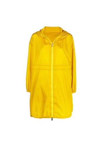 "Moncler yellow Moncler ""Lichen"" Windbreaker in Yellow 0249DAAD86B44FGS_1"