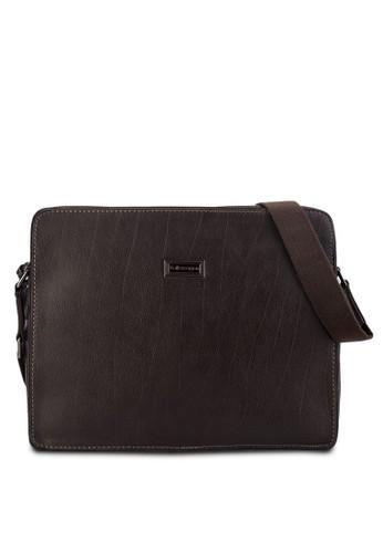 Volkswagen brown Volkswagen Genuine Leather Sling Bag VO089AC55EHOMY_1