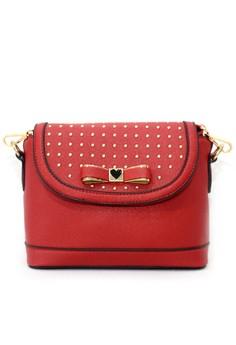 Image of Carole Satchel bag - Red
