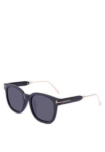 Medium Rare Store black Tate Glasses 80B35GLD14BD66GS_1