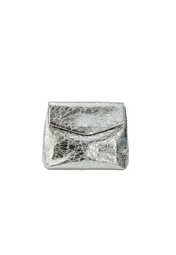 My Flash Trash silver Silver Minimal Backpack 0B08FACB907369GS_1