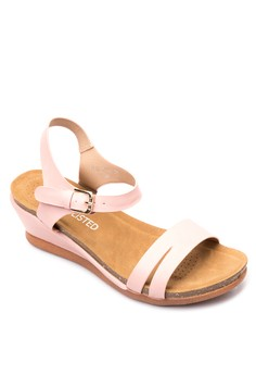 Belle Wedge Sandals