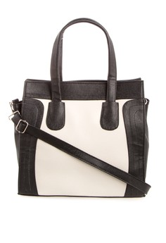 Julia Top Handle Bag With Sling Straps
