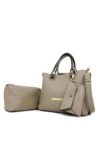 Carlo Rino beige Carlo Rino 0302999-001-36 Top-handle bag (Beige) 97CEBACB9D48F5GS_1