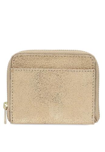 Pieces gold Pcgun Suede Wallet Fc 9BA80AC570558AGS_1