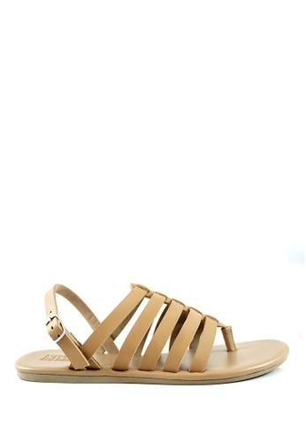 STEFANIA BALDO beige Stefania Baldo - Lachandra Sandals ST294SH28NULID_1