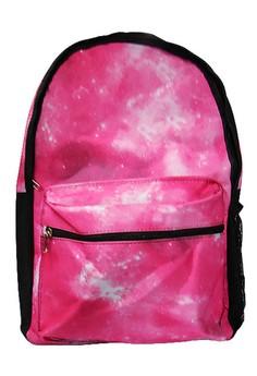 Night Sky Design Canvas School Bag BackPack BP-88 (Pink)