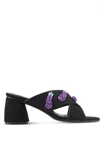 Something Borrowed black Embellished Heels 85808SH596431BGS_1