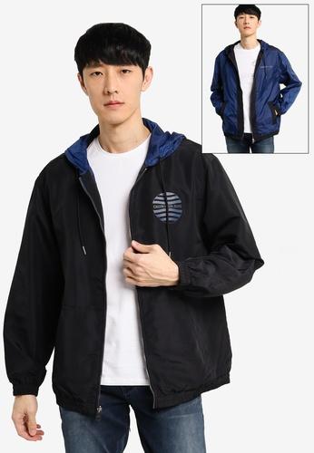 Calvin Klein black Reversible Windbreaker - Calvin Klein Jeans 855EAAAF9C8FF3GS_1