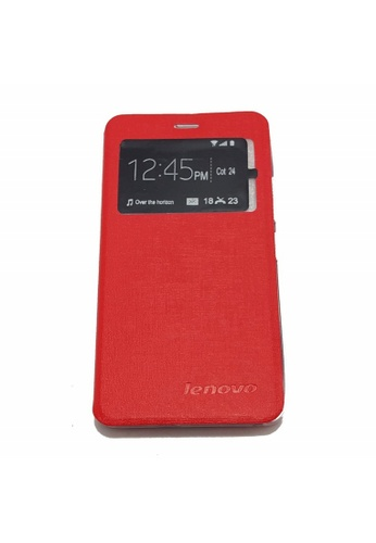sale retailer ed526 03683 Leather Flip Cover for Lenovo K4 Note (A7010)
