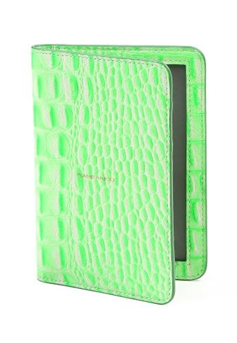 RABEANCO green Passport Holder RA424AC44IJRHK_1